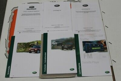 VDC000031SWE SWEDISH Land Rover Freelander 1 Owners hand book + service portfoli
