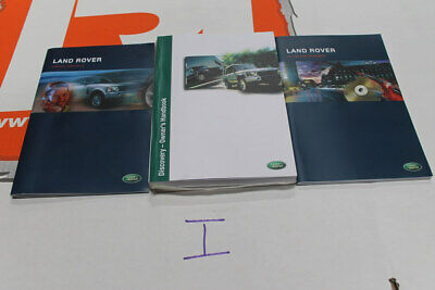 VDC000300 ENGLISH Land Rover DISCOVERY Owners hand book service portfolio + in c