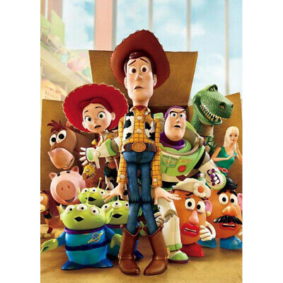 5D Toy Story Full Drill Diamond Painting Embroidery Cartoon Cross Stitch Kits