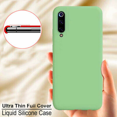 Thin Shockproof Rubber Liquid Silicone Case Cover for Samsung Galaxy A50 A40 A70