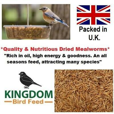 DRIED MEALWORMS MEALWORM WILD BIRD FOOD PREMIUM QUALITY 50g 1KG 2KG 3KG 5KG 10KG