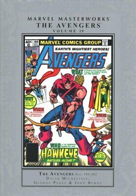 Marvel Masterworks: The Avengers Vol. 19 by David Michelinie 9781302916374