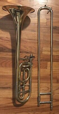 Nice Used Ravel Trombone with F-Trigger