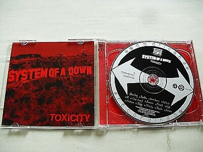 System Of A Down ‎– Toxicity   2001   2 CD