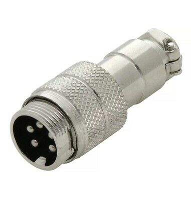 5 Pin CB / HAM Radio Mic Microphone Flying Socket In-Line Connector