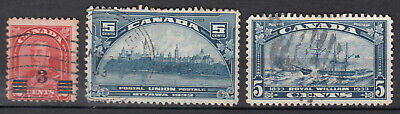 Canada Selection of Mid 1900's