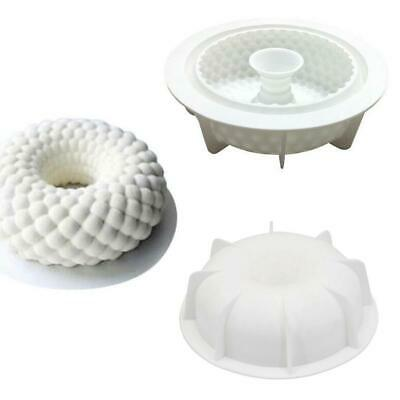 3D Cakes Mold Tray Baking Mousse Decor Tools Desserts Silicone Bakeware Mould