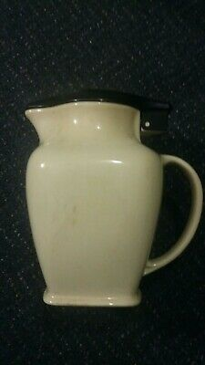 Vintage kookaburra  pottery Fowler Ware electric jug with lid & cord