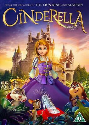 Cinderella [DVD] (From makers of Lion King and Aladdin) Family Animated Movie
