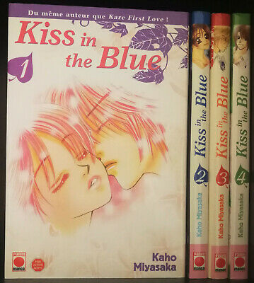 Mangas Intégrale KISS IN THE BLUE (4 Tomes)