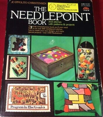 The Needlepoint Book By JO IPPOLITO CHRISTENSEN 1976 The Creative Handcraft Book