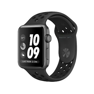 Apple Watch Nike+ 42mm Space Gray Aluminium with Anthracite/Black Nike Band