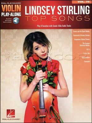 Lindsey Stirling Top Songs Violin Play-Along Music Book/Audio SAME DAY DISPATCH