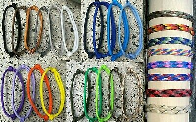 Paracord bracelet ANY COLOUR adjustable wristband camo Friendship party rope