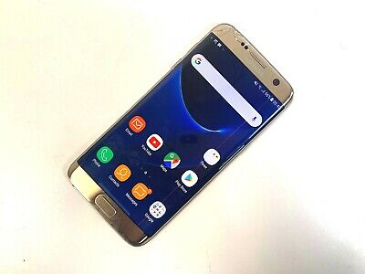 Samsung Galaxy S7 edge SM-G935F - 32GB - Gold (Unlocked) POOR CONDITION, 945