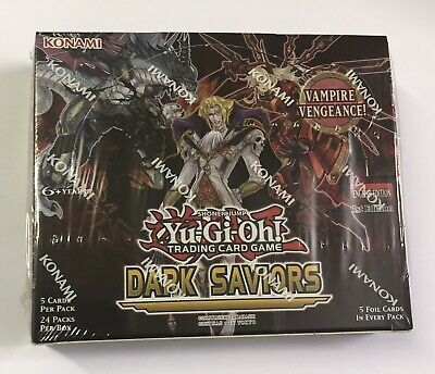 Yu-Gi-Oh! Dark Saviors Booster Box 1st Edition Sealed