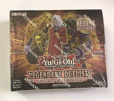 Yu-Gi-Oh! Legendary Duelists Ancient Millennium Booster Box 1st Edition Sealed