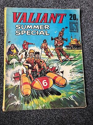 Valiant Summer Special comic 1974 VFN