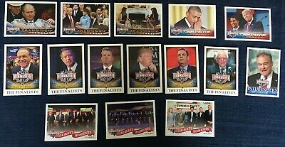 Decision 2016 Political Trading Cards! Lot Of 77 Different Cards!