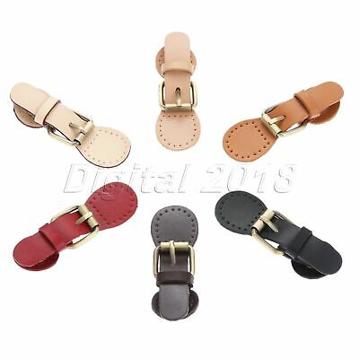 1Set 95*31mm Leather Magnetic Snap Buckles Sewing Fasteners For Bag 6Colors