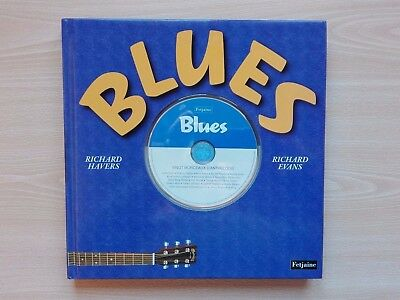 Blues – ''Book And Cd''- By Richard Havers And Richard Evans. France Edition.