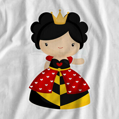 Adventure In Wonderland | Queen | Iron On T-Shirt Transfer Print