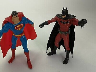 Dc Comics  Superman Figure And Batman 6""