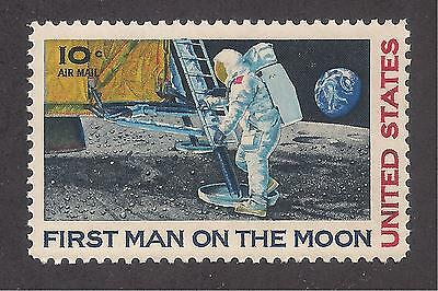 APOLLO 11 - FIRST MAN ON THE MOON - 1969 U.S. POSTAGE STAMP - 50th ANNIVERSARY