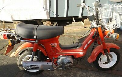 Honda Chaly CF70 motorcycle - with V5C - 1983