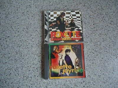 Roxette – 2 CD`s – Joyride + Crash! Boom! Bang!