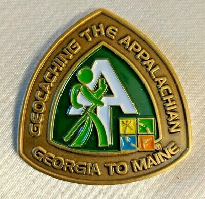 Geocaching The Appalachian New York 88 Miles Pin Oakpins Co. 1 11/18 inches
