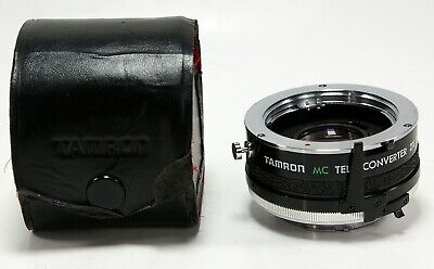 Tamron 2X Tele-Converter for Minolta MD Lens with Case