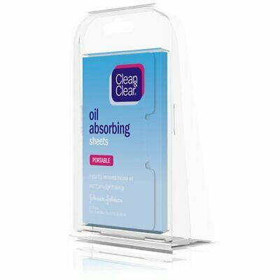 (qty-3) Clean & Clear Oil Absorbing Sheets (50 Sheets)