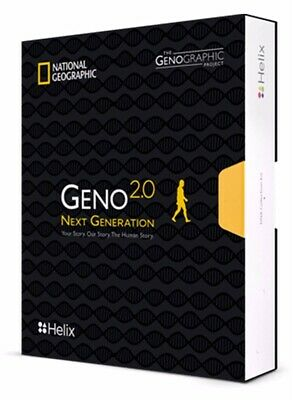 National Geographic DNA Test Kit Geno 2.0 Next Generation-Powered by HELIX