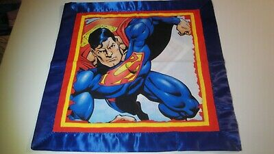 Superman Lovey-Gr8 For Children-Satin Binding