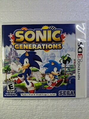 SONIC GENERATIONS (3DS) NEW - $38 50 | PicClick
