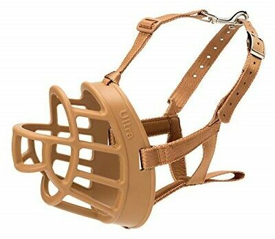 The Company of Animals Baskerville Ultra Basket Dog Muzzle Adjustable and Comfor