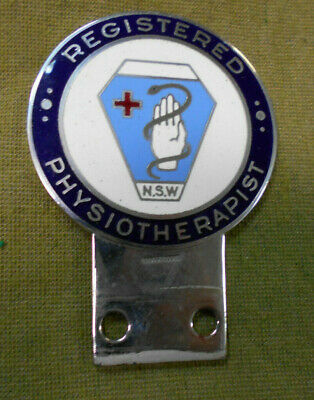 #D493.   Registered  Physiotherapist  Nsw  Car Badge