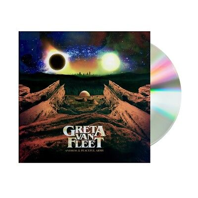 Greta Van Fleet :  Anthem Of The Peaceful Army (Audio CD) New Release!