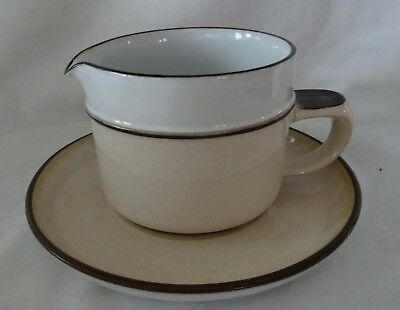 DENBY England stoneware Gravy and under Plate Tray MADRIGAL