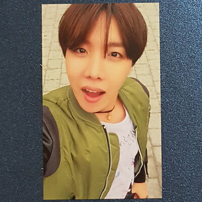 J Hope - Official Photocard 4th Album in the mood for Love part 2. BTS Kpop
