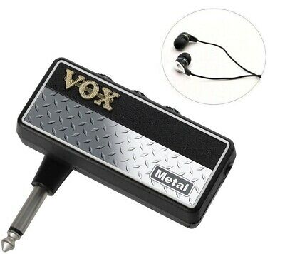 Vox Metal Mini Amp W/ Free Headphones ! Amplug 2 AP2MT