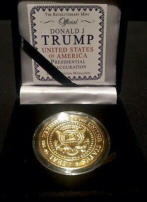 SERIES I 2017 HISTORIC TRUMP GOLD 1 OZ Indiv Numbered, EDGE-MARKED - WOW!