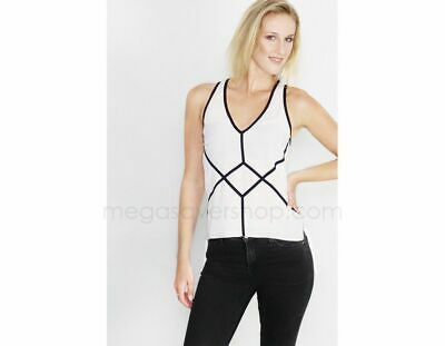 Designer Top High Quality Tape Top White Black