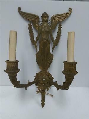 Stunning Figural Brass Victorian style God Wall Light Sconce Athena??