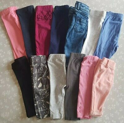 Leggings & Jeans Bundle 3-6 Months Next River Island Mothercare Tu Etc