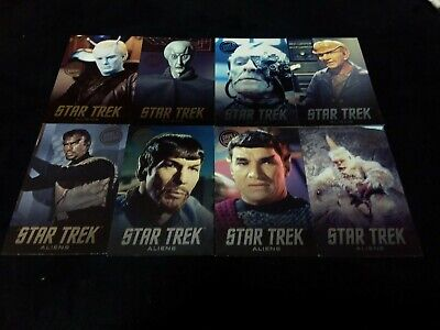Dave and Buster's Aliens Star Trek Non Foil Arcade Card Set Lot - Mugato