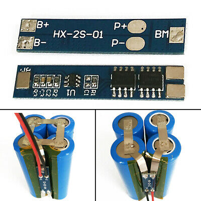 2S/5A BMS PCB Charger Protection Board For 2Pack 18650 Li-ion lithium Battery