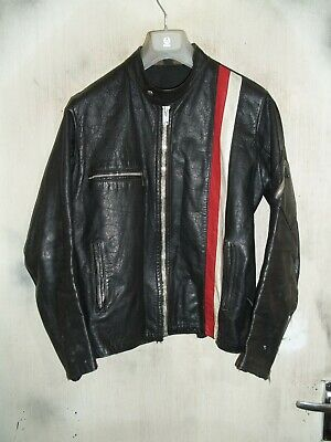 """VINTAGE 70's BELSTAFF EASY RIDER LEATHER MOTORCYCLE JACKET SIZE 40"""""""