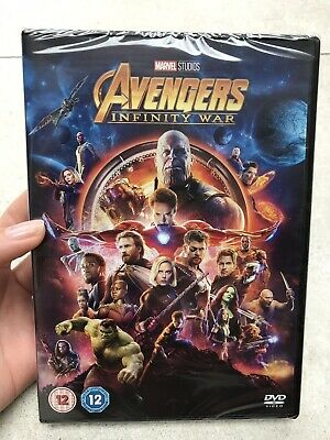 Brand New Sealed - Marvel Avengers Infinity War DVD - 1 Disc Feature Film